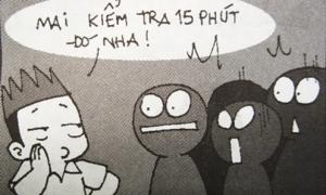 Fun pic: Gặm bút vì tội 'troll' bạn bè