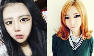 Mốt kẻ mắt to kinh dị một thời của nữ sinh Hàn