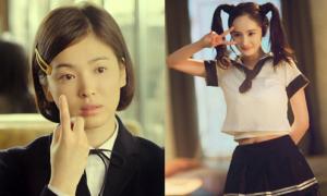 Đọ tài 'cưa sừng làm nghé' của sao nữ Hoa - Hàn