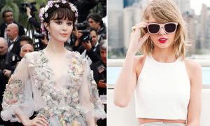 Phạm Băng Băng, Taylor Swift mặc đẹp nhất thế giới