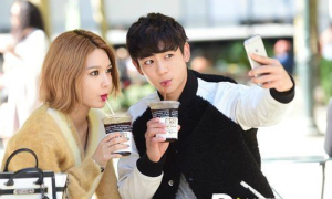 Soo Young - Min Ho đẹp đôi như tình nhân trên đất Mỹ