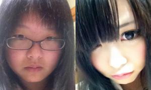 Nữ sinh Nhật tiết lộ cách trang điểm 'lừa tình'