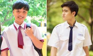 Đồng phục cà vạt 'mỗi trường một vẻ' của nam sinh Sài thành