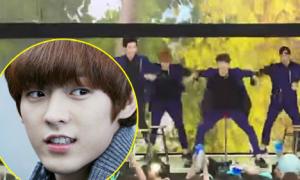 Những sự cố hài hước của sao Hàn khi biểu diễn
