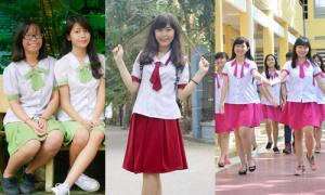 6 màu đồng phục khó đụng hàng của teen girl Sài thành