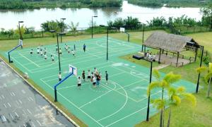 4 trường THPT Sài thành có khu thể dục hoành tráng, xanh mát