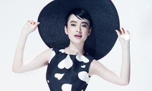 Angela Phương Trinh thành 'nàng thơ' của Đỗ Mạnh Cường