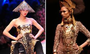 Hương Ly đọ tài catwalk với các đối thủ tại Next Top Model