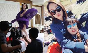 Sao Việt 24/11: Phương Trinh 'bung váy' khó hiểu, Mie hẹn hò bạn gái tin đồn