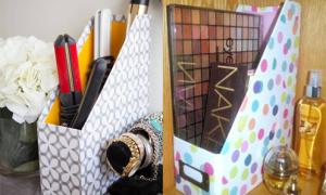 Những cách sáng tạo tái sử dụng hộp đựng tài liệu