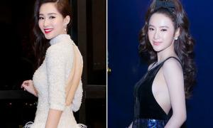 Sao style 27/12: Thu Thảo khoe lưng trần, Phương Trinh làm tóc nhí nhảnh