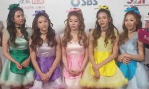 Sao nữ mặc xấu, mắc lỗi trang điểm ở sự kiện SBS Gayo