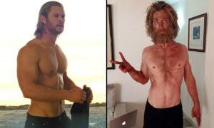 Sao Hollywood khác biệt 'một trời một vực' khi biến đổi cân nặng