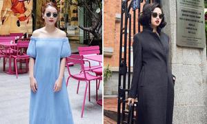Sao style 3/3: Yến Trang, Tâm Tít mix đối lập với váy trơn màu