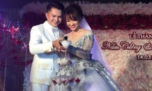 Nam Cường bí mật làm đám cưới với cô dâu xinh như hot girl