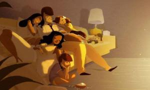 Bộ tranh chứng minh không có gì tuyệt vời bằng gia đình