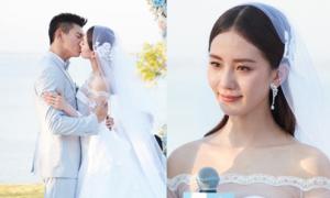 Ngô Kỳ Long - Lưu Thi Thi rơi nước mắt trong đám cưới lãng mạn