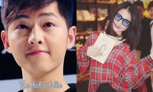 Độ cuồng Song Joong Ki 'đố ai theo kịp' của Hòa Minzy