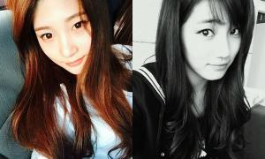 Tân binh Produce 101 gây chú ý vì giống Jun Ji Hyun, Suzy, Krystal