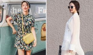 Sao style 2/5: Phương Trinh xì po cây trắng, Quỳnh Anh Shyn hóa 'công chúa đồng quê'