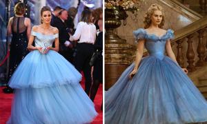 Xuất hiện bộ váy xinh hơn cả Cinderella trong cổ tích
