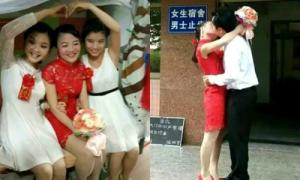 Cặp sinh viên làm đám cưới trong ký túc xá gây náo loạn