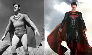 Tạo hình của các siêu anh hùng thời ít kinh phí và khi được đầu tư