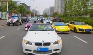 Thiếu gia, tiểu thư Trung Quốc khoe dàn siêu xe làm loạn phố