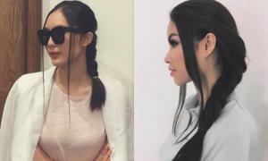 Dàn xì ta, hot girl Việt mê tít trào lưu tóc tết mong manh