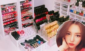 Gia tài mỹ phẩm 'vạn người mê' của cao thủ makeup Hàn