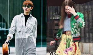 Sao style 23/6: Kim Nhã diện style 'công nhân', Hà Hồ chơi màu sặc sỡ