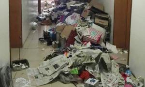Nữ sinh sốc nặng trước núi rác khi chuyển đến KTX cũ của nam sinh