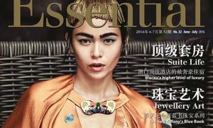 Quán quân Next Top như nữ hoàng trên tạp chí ngoại