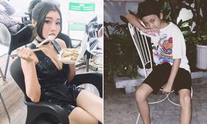 Sao Việt 13/7: Khả Ngân 'chuyển giới', Elly Trần ngồi ăn cũng sexy