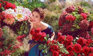 Lâm Tâm Như đẹp hơn hoa, hé lộ khung cảnh đám cưới ở Bali