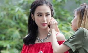 Hậu trường chụp hình đổi quần áo lia lịa của Phương Trinh