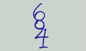 Người suy nghĩ logic sẽ đếm được có bao nhiêu số trong hình