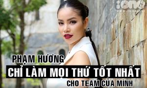 Những câu nói nghe nhiều đến nhàm của Phạm Hương trong The Face