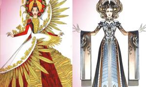 Cuộc thi thiết kế váy áo cho đại diện Việt Nam ở HH Hoàn vũ 2016