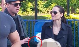 Angelina Jolie và Brad Pitt từng cãi nhau to khi đi chơi cùng các con