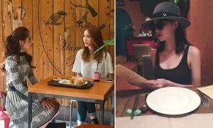 Sao Việt 6/10: Chi Pu đi ăn với Ji Yeon, Tâm Tít ngồi ăn vẫn đeo kính râm, đội mũ
