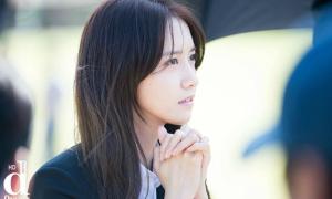 Ảnh Yoon Ah đẹp như tạp chí trên phim trường 'The K2'