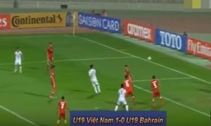 Bàn thắng đưa U19 Việt Nam vào World Cup lần đầu tiên