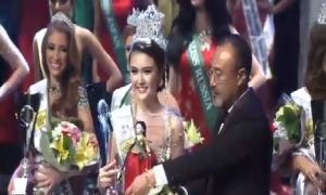Phút đăng quang của Nữ hoàng Sắc đẹp Toàn cầu 2016