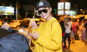Mâu Thủy mặc ấm áp về Sài Gòn sau 6 tháng đắt show ở New York