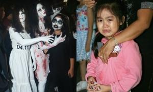 Con nít khóc thét vì 'ma quỷ' giữa phố đi bộ Nguyễn Huệ