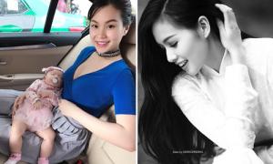Sao Việt 13/12: Diễm Trang 'lên sắc' hậu sinh con, Tâm Tít đẹp trong veo tuổi 30