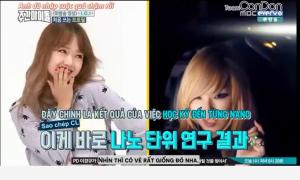 Thánh biểu cảm I.O.I nhái đàn chị CL(2NE1) giống hệt