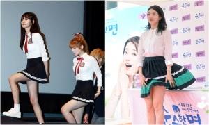 Những kẻ thù đáng sợ của idol nữ khi mặc váy ngắn