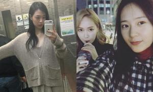 Sao Hàn 23/12: Sulli vô tư 'quên' mặc bra, Jessica - Krystal đi chơi Giáng sinh